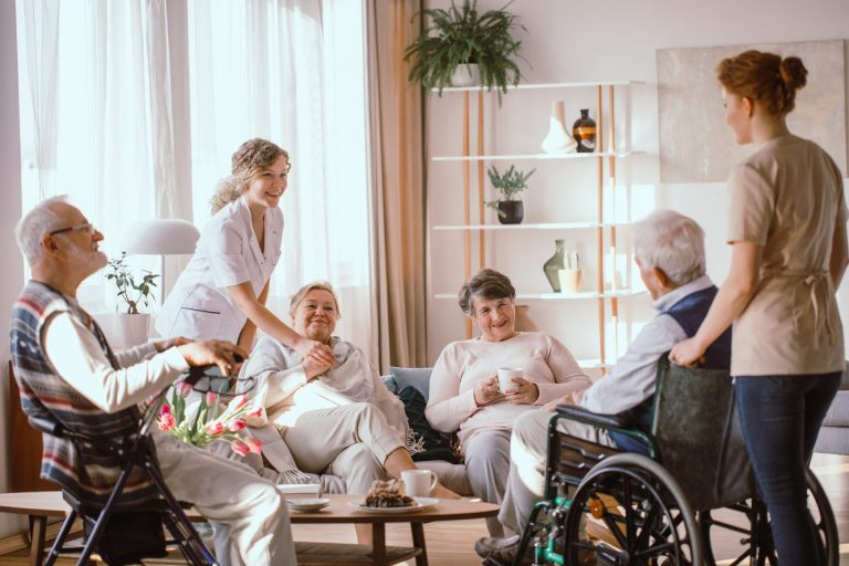 Assistance with daily life tasks in a group or shared living arrangement Daily Tasks/Shared Living